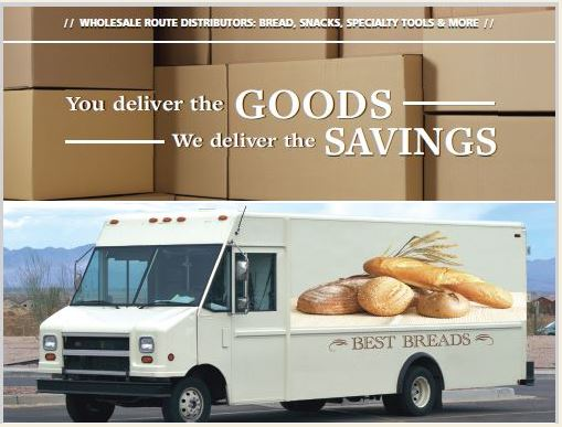 You work hard and so should your insurance to cover your bread route delivery truck.